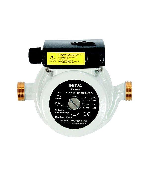 Pressurizador Modelo GP-250PB Latão 220v Inova