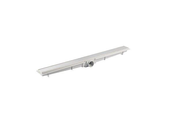 Ralo Linear Sifonado com Grelha em Inox Flat 5x70cm LGMAIS