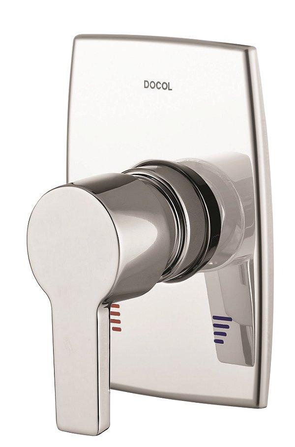 Acabamento Monocomando para Chuveiro 3/4 Alta Pressão/Baixa Pressão Alta Vazão Priori 00529806 Docol