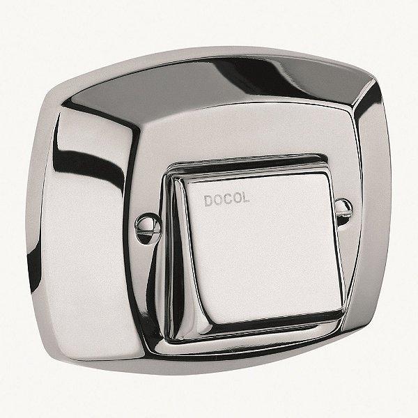 Acabamento para Válvula de Descarga Clássica Chrome 01500006 Docol