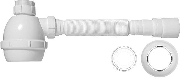 Sifão Universal com Copo Branco 31301 Blukit