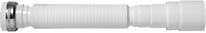 Sifão Tubo Extensivo Universal Branco Porca de Metal 30102 Blukit
