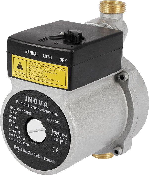 Mini Pressurizador Modelo GP-120 127v Inova