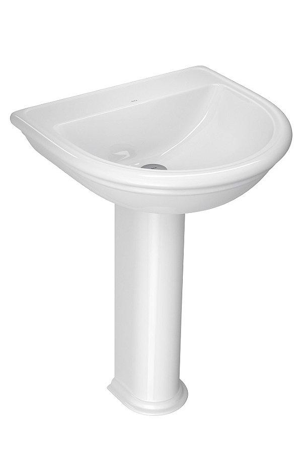 Lavatório para Banheiro L-2 GE17 Belle Époque 55x51cm Branco Deca