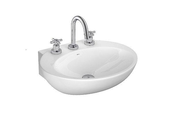 Lavatório para Banheiro L-39 GE17 Spot Branco Deca