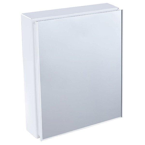 Armário Plástico para Banheiro 45x36x10cm Branco A44 Astra