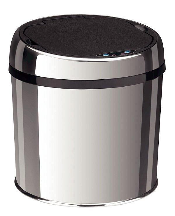 Lixeira Inox Automática Sensor Easy 6 litros Tramontina
