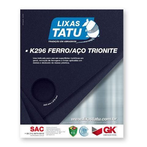 Lixa de Ferro Grão 150 Tatu