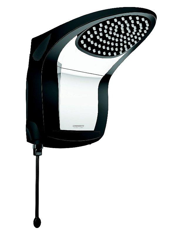 Acqua Jet Ultra Eletrônico Black/Cromado 6800w 220v Lorenzetti