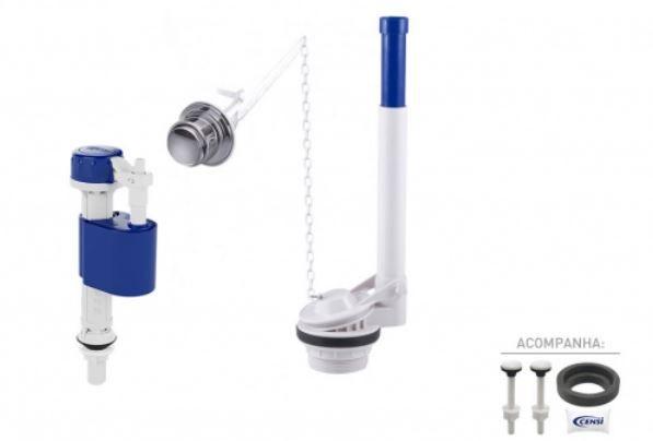 Kit para Caixa Acoplada Masterflux + Acionamento Lateral 9565 Censi