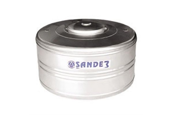 Caixa D'Água em Aço Inox 500L AC Sander
