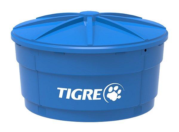 Caixa D'água Polietileno com Tampa 1500L Tigre