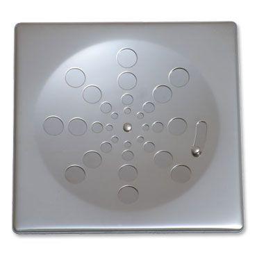 Grelha Quadrada Inox sem Caixilho com Fecho Cromada 15cm 004-P Estilmax