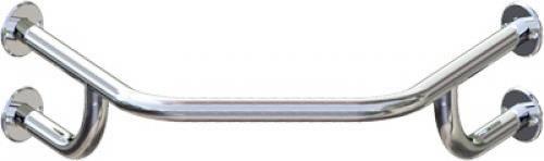 Barra de Apoio para Lavatório L76 Canto Alumínio Prata Levevida