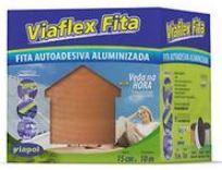 Manta Asfáltica Viaflex Fita Sleeve 15cmx10mt Cor:Telha Viapol