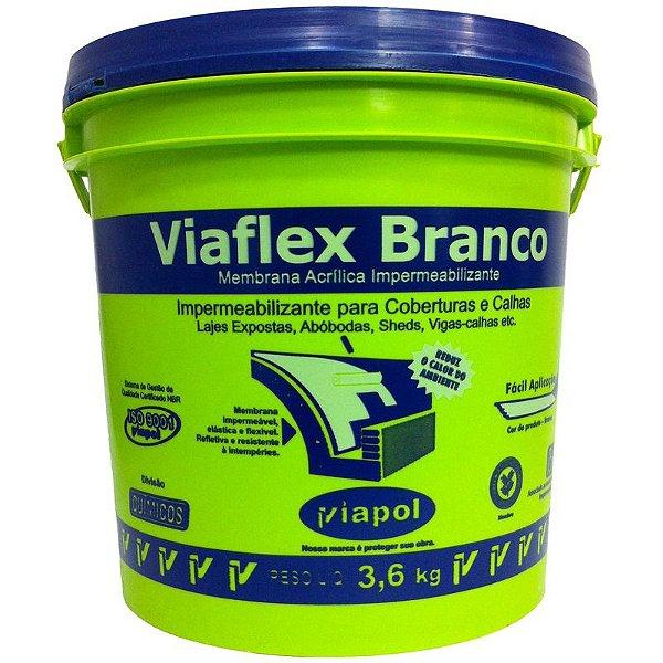 Viaflex Branco 3,6kg Laje Viapol