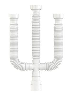 Sifão Triplo Pvc Flexível Ref.14859 Franke