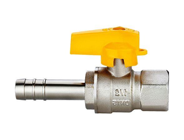 Válvula Esfera Reta para Gás 1/2(F)x3/8(BM) Emmeti
