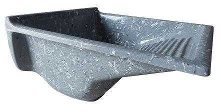 Tanque Granitado 55x57 Fixar 34 litros Cinza Corso