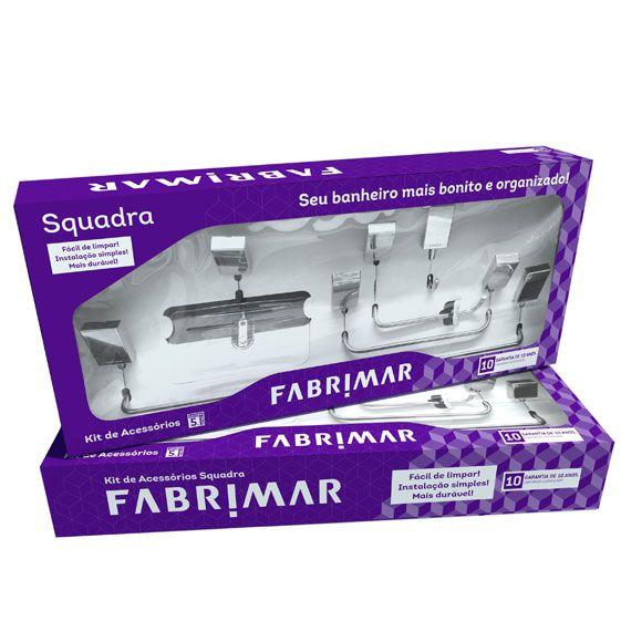 Kit de Acessórios 5 peças 5000 Squadra Fabrimar