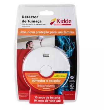 Detector de Fumaça para Corredor e Escada Kidde