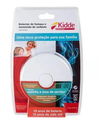 Detector de Fumaça para Cozinha e Área de Serviço Kidde