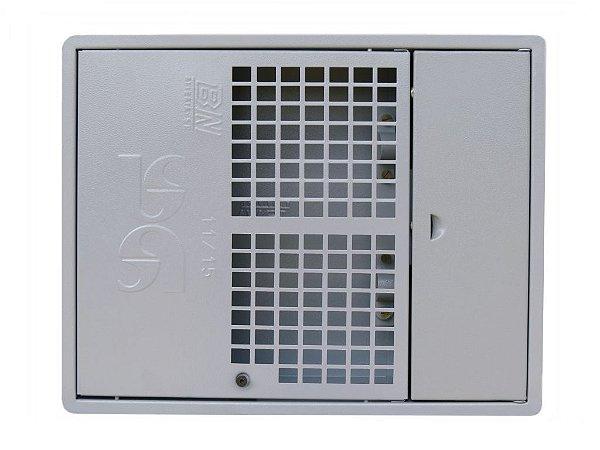 Caixa Uma Padrão Sabesp 1 ou 2 Medidores Aço Indústria BN