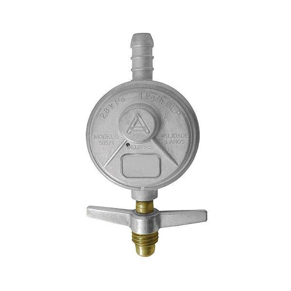 Regulador de Gás Doméstico 1kg/h sem Mangueira 505/01 Aliança