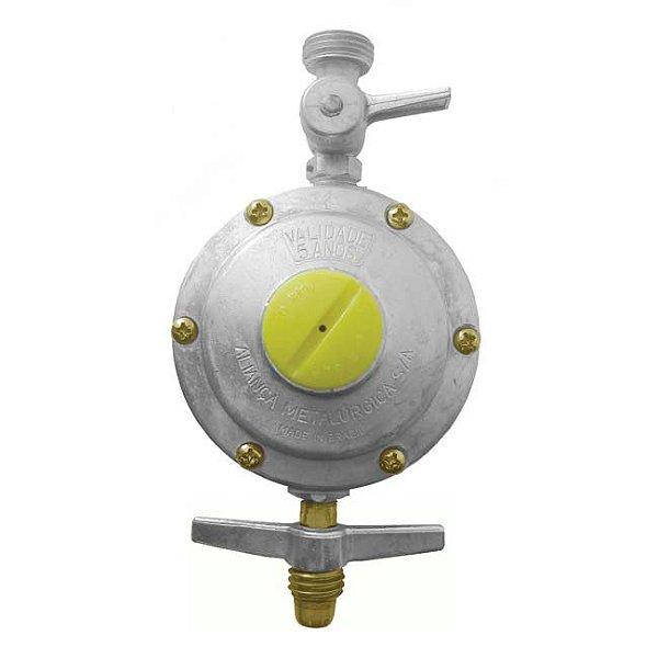 Regulador de Gás Doméstico 2kg/h sem Mangueira 506/10 Aliança