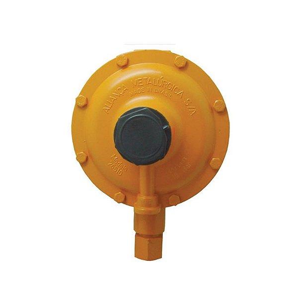Regulador de Gás Industrial 50kg/h Laranja 76510/01 Aliança