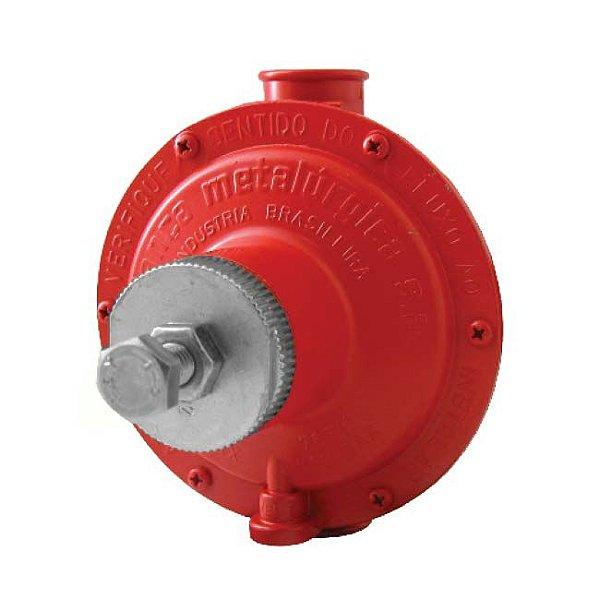 Regulador de Gás Industrial 15kg/h Vermelho 76511/02 Aliança
