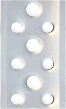 Grelha Alumínio Fosca TG46 1,00mt Sekapiso
