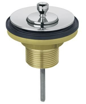 Válvula para Lavatório Universal Arte com Tampa Metal 00486306 Docol