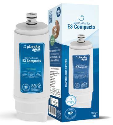 Refil E3 Compacto Cód.1101 Planeta Água