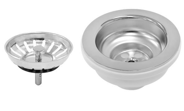 """Válvula Aço Inox 4.1/2"""" Luxo 94510/022 Tramontina"""