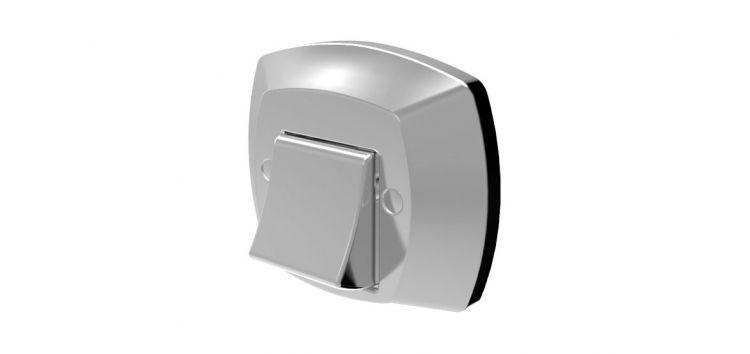 Acabamento Completo para Válvula de Descarga Docol Cromado 340308 Blukit