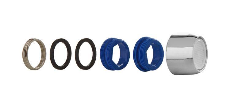 Arejador Completo Metal com Rosca Padrão Deca (Antigo e Atual), Fabrimar (Atual) e Docol (Atual) 100601 Blukit