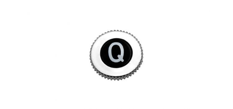 """Botão """"Q"""" para Volante com Rosca Padrão Deca 100202 Blukit"""