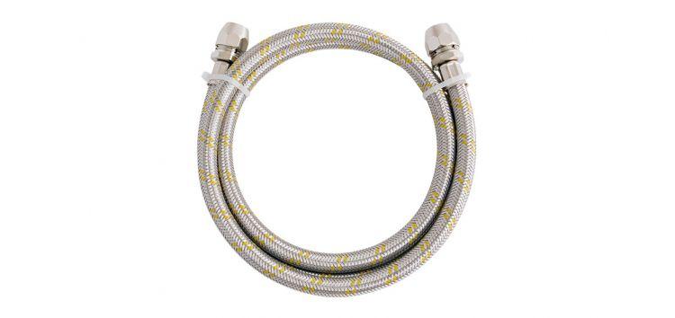 Ligação Flexível para Instalação de Gás 2m 3/8(F) x 3/8(F) 182104 Blukit