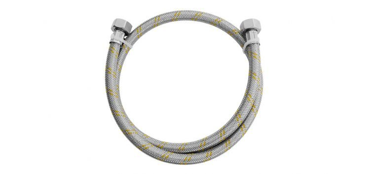 """Ligação Flexível para Instalação de Gás 2m 1/2""""(F) x 1/2""""(F) 180408 Blukit"""