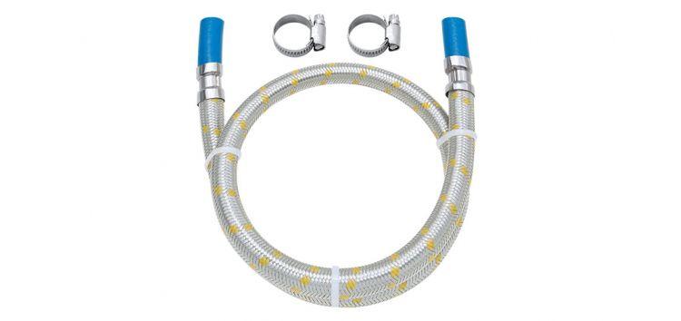 """Ligação Flexível para Instalação de Gás 2,00m com Espigão de 3/8"""" 182505 Blukit"""