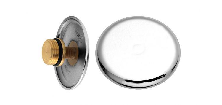 Plug com Canopla em ABS Rosca 0 171102 Blukit