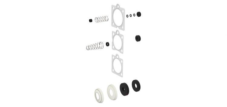 Kit De Reparo Unificado Simples 6 em 1 para Válvula de Descarga Oriente 342135 Blukit