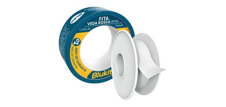 Fita Veda Rosca de Alto Desempenho 18mmx50m Carretel 102510 Blukit