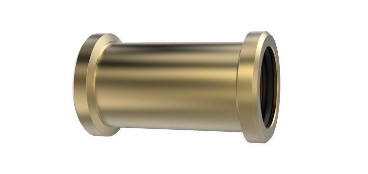 Luva de Correr para Tubo de Cobre em Liga de Cobre 22mm 171019 Blukit