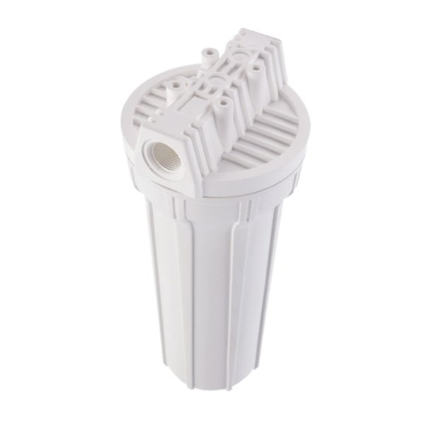 "Filtro Ponto de Uso 9.3/4"" Acquacarbon Branco para Torneira 907-0019 Hidrofiltros"