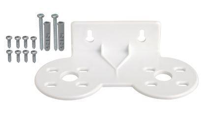 Suporte Plástico Duplo para Filtro 913-0060 Hidrofiltros