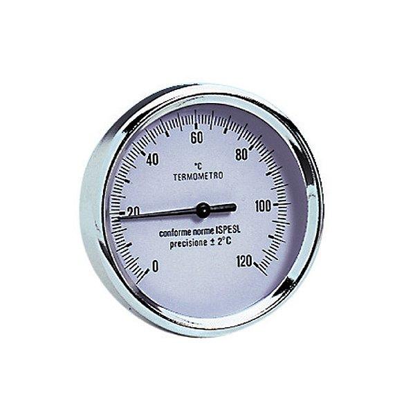 "Termômetro de Imersão 0 a 120° 1/2"" x 80mm Emmeti"