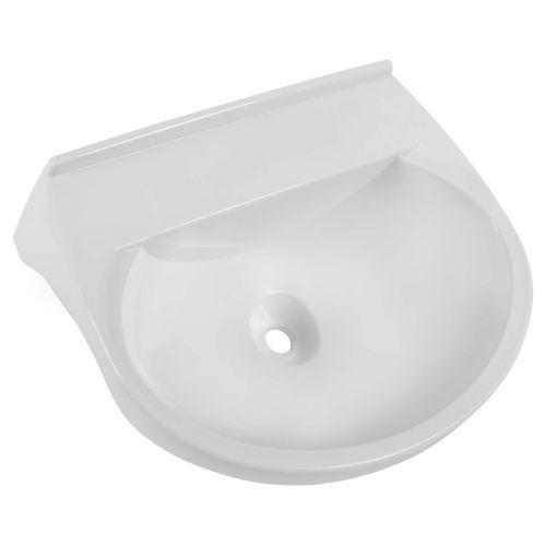 Lavatório Plástico para Banheiro 8 Litros LV3 Branco Astra