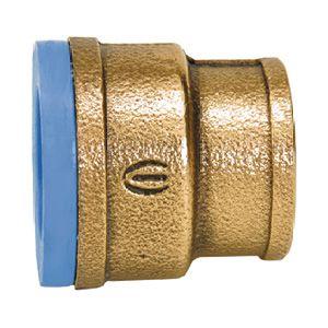 """Luva Azul Cobre N.500 25mm x 3/4""""Eluma"""